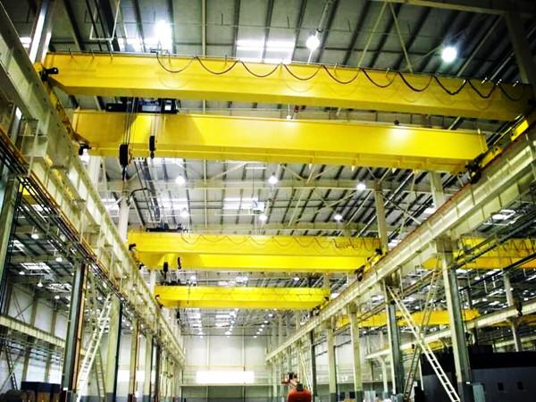 Grúa de puente birriel de 10 toneladas