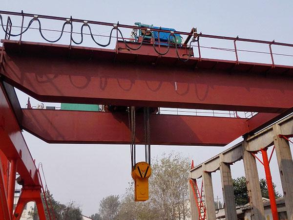 Grúa de puente 50 toneladas