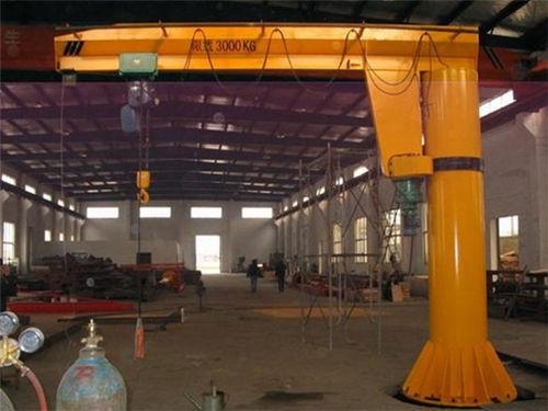 Grúa pluma 3 toneladas columna de Aicrane compañía para la venta con barato precio, nosotros grúas tienen buenas ventas.