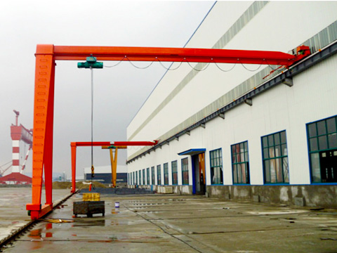 Weihua Grúa semipórtico monorraíl de construcción esta en venta.