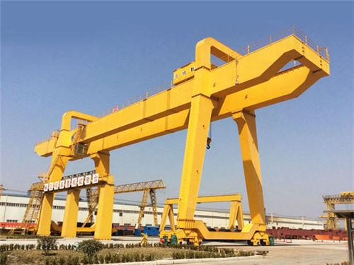 Weihu tipo caja de grúa pórtico de 50 toneladas con alto eficiente.