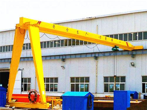 Grúa semipórtico 30 toneladas de monorraíl